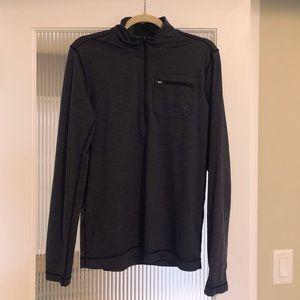 PrAna 1/4 zip active long sleeve shirt. SZ SM